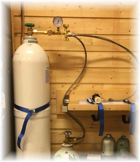 Picture of Oxygen annual refilling