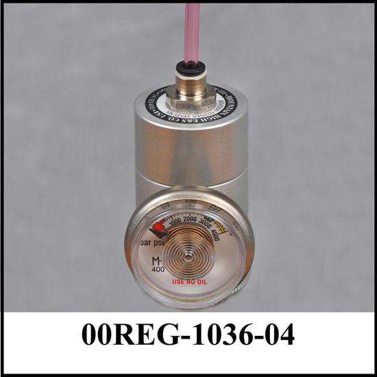 Regulator with gauge